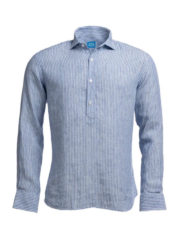 Panareha® camisa polera de linho SARDEGNA   CH1961S13