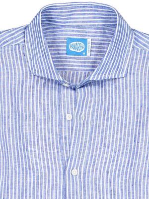 Panareha® SARDEGNA leinen polera shirt   CH1961S13