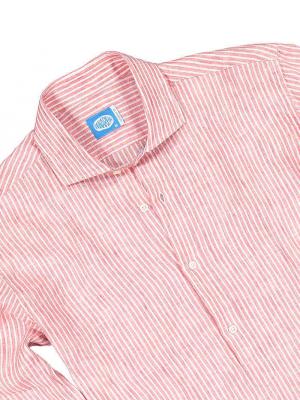Panareha® | SARDEGNA linen polera shirt