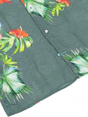 Panareha® camisa aloha de linho HONOLULU   CH1990F26