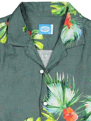Panareha® | HONOLULU linen aloha shirt