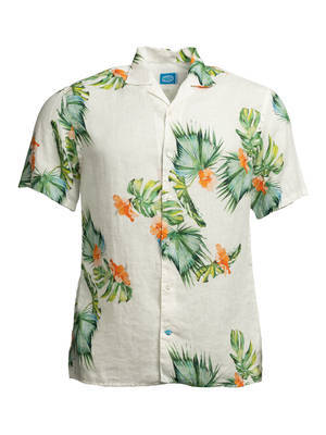 Panareha® | camisa aloha de linho HONOLULU