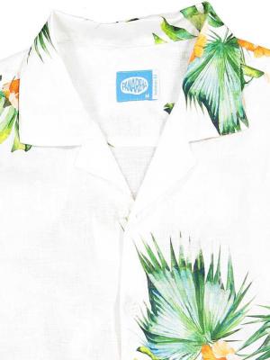 Panareha® | chemise aloha en lin HONOLULU