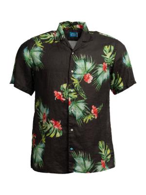 Panareha® camicia aloha di lino HONOLULU | CH1990F25