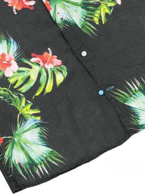 Panareha® HONOLULU linen aloha shirt   CH1990F25