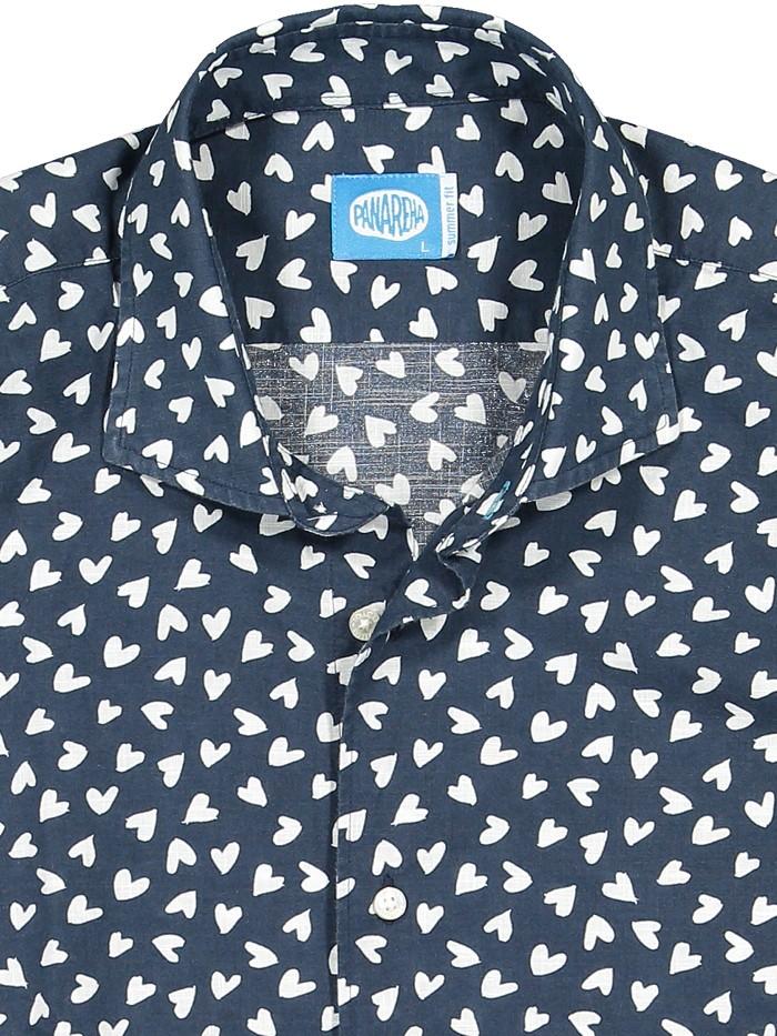 Panareha® camisa de corações BIARRITZ | CH1902D31