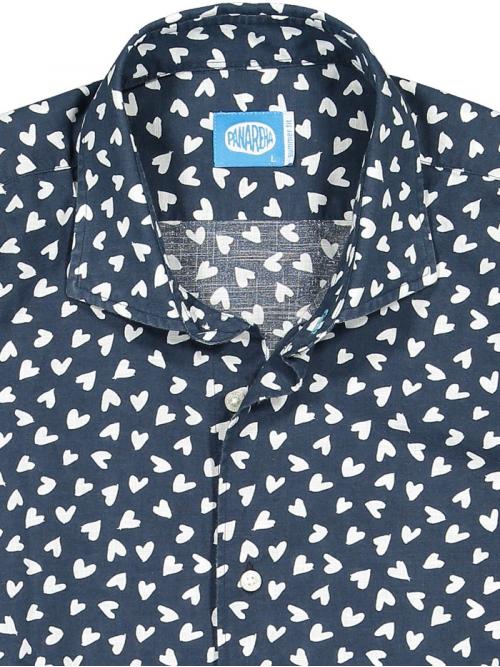 Panareha® chemise de coeurs BIARRITZ | CH1902D31