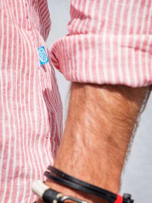 Panareha® | camisa polera de lino SARDEGNA