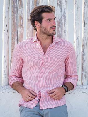 Panareha® | camicia in lino CORSICA