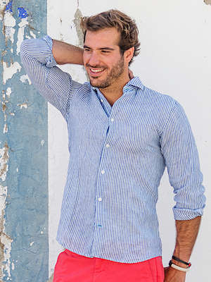Panareha® | camisa de linho CORSICA