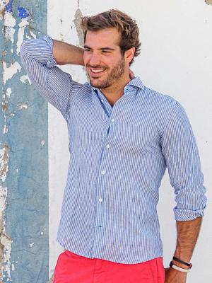Panareha® | chemise en lin CORSICA