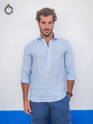 Panareha® | camisa polera de lino MAMANUCA