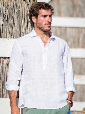 Panareha® | MAMANUCA leinen popover hemd
