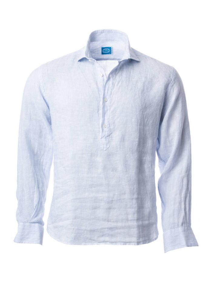 Panareha® | Camisa polera de linho SAMUI