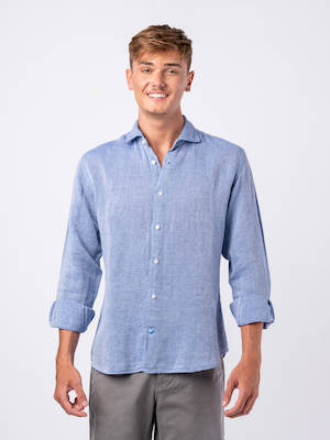 Panareha® | NAXOS cotton & linen shirt