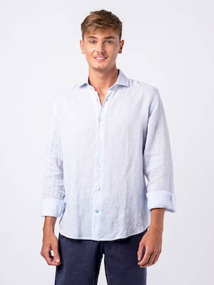 Panareha® | PHUKET striped linen shirt