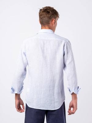 Panareha®   Camicia di lino a righe PHUKET