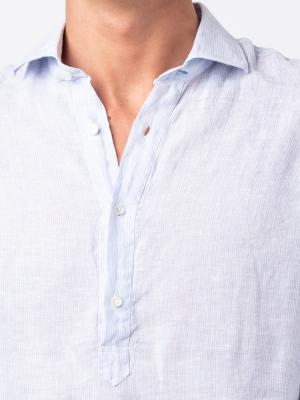 Panareha® | Camisa polera de lino SAMUI