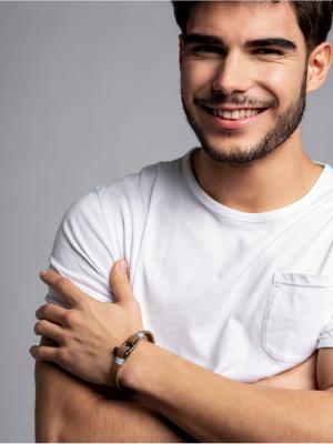 Panareha® | pulseira em couro TEAHUPO'O