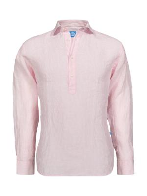Panareha®   camisa polera de linho SAMUI
