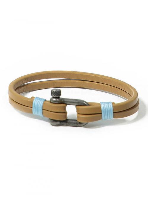 PANAREHA pulseira em couro TEAHUPO'O JH1803L1A