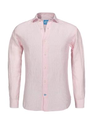 Panareha®   Camisa de linho às riscas PHUKET