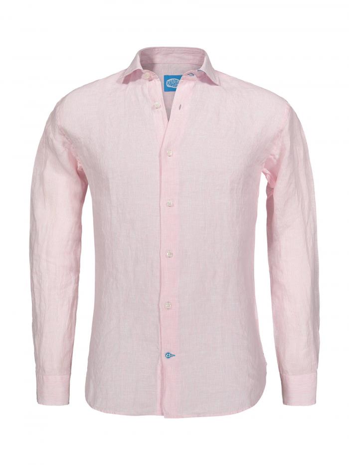 Panareha®   PHUKET striped linen shirt