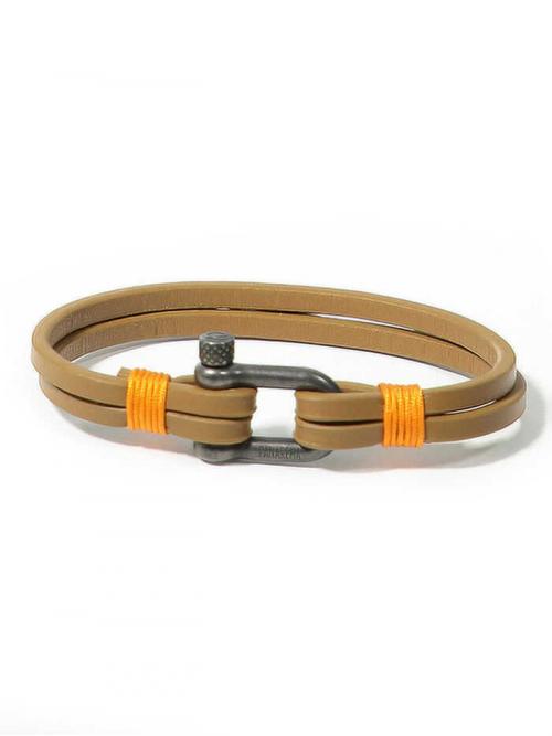 PANAREHA pulseira em couro TEAHUPO'O JH1803L1B