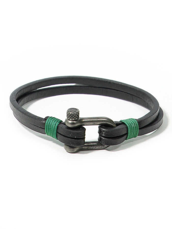 PANAREHA bracelet en cuir TEAHUPO'O JH1803L2C