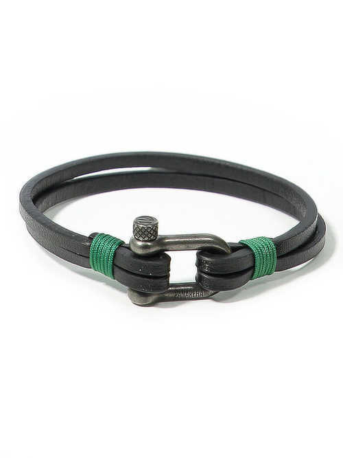 Panareha® pulseira em couro TEAHUPO'O | JH1803L2C