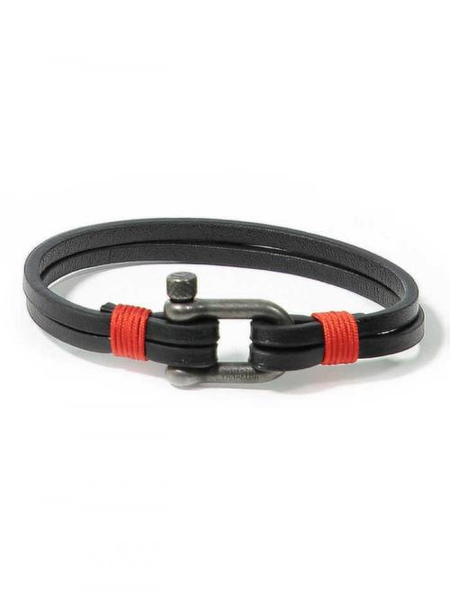 Panareha® pulseira em couro TEAHUPO'O | JH1803L2D